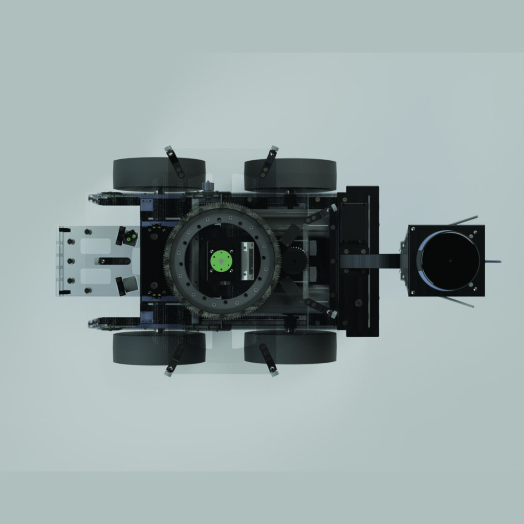 AIS Unmanned Ground Vehicle Top View